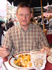NYC - Little Italy, dining at DaGenaro (Guenther Lutz) Tags: impact outdoor dining dinner man