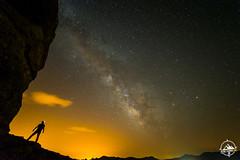 Alone (juanma__molina) Tags: landscape portrait nature night silhouette nikon stars españa longexposure milkyway murcia estrellas paisaje inspiration nocturna nightphotography vialactea largaexposicion fotografianocturna recogeyvamonos juanmamolina cuevas de zaen naturaleza