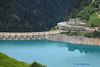 aperçu dubarrage©du lac de Roselend (philippedaniele) Tags: voute lac roselend beaufortain alpes montagnes hydoélectrique barrage