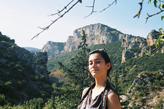 """Wilderness II"" (kyopé) Tags: ektar100 canonet analog argentique ektar film filmcamera filmphotography kodak girl fille sauvage nature wild land herault languedoc canon shoot photographer"