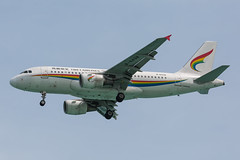 B-6438_1 (Daniel Hobbs   Spot2Log) Tags: aircraft airplane plane airport tibet tibetairlines airbus a319 usm kosamui kohsamui thailand vtsm