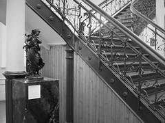 Birmingham 425a (*a*dalton*) Tags: artgallery birmingham uk stairs blackandwhite bw