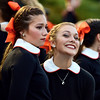 The gamut of emotions...in one shot (R.A. Killmer) Tags: bethettes bethelpark football smile frown emotion interesting uniform traditional marching band michaela 201718