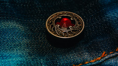 "ButtonsandBows-9483 (EB_Creation) Tags: macromondays hmm ""macromondays"" buttonsandbows nikon sigma jeans blue button macro"