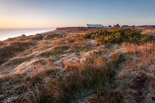 Winter at Dunwich Heath, Suffolk