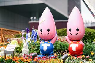 Tokyo Tower mascots