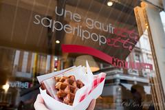 Une Gaufrette Saperlipopette (GenJapan1986) Tags: 2017 unegaufrettesaperlipopette ベルギー リエージュ ワッフル 旅行 liège wallonie belgium travel fujifilmx70 food sweets
