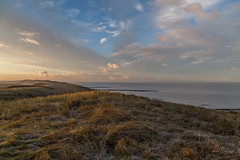 Frosty coastline (Monika Kalczuga (on&off)) Tags: frosty morning coastline sea northsea huisduinen denhelder netherlands holland europe nature grass tallgrass coast shore clouds sky sunrise mrning lowtide serene seascape shoreline lanscape noordzee
