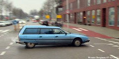Citroën CX 2400 IE Familiale 1981 (XBXG) Tags: 92lln9 citroën cx 2400 ie familiale 1981 citroëncx bleu blue stationcar stationwagen station wagon estate kombi ridderspoorweg amsterdam noord amsterdamnoord nederland holland netherlands paysbas vintage old french classic car auto automobile voiture ancienne française france frankrijk outdoor vehicle break