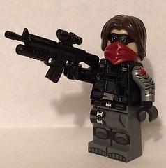 Upgraded Winter Soldier (Mike-1911) Tags: theloneranger disney eclipsegrafx brickarms buckybarnes wintersoldier marvelcomics lego