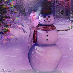 Snowman... (Leni Soul) Tags: snowman christmas maitreya catwa sl second life marketplace blog shape leni soul wordpress porträt winter snow calas runaway run away