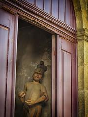 Chapel Via Sacra Passion of Christ (ShambLady) Tags: chapel via sacra passion christ kapel capelo guimarães portugal 2017 260717 minho braga cristo christo wood madera hout cross of the steps christ's passos da paixao ou estações
