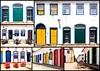 couleurs de Paraty (Hélène Baudart) Tags: couleurs fenetres portes paraty bresil montage