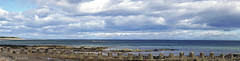Lighthouse (♥ Annieta  off/on) Tags: annieta juli 2017 sony a6000 holiday vakantie england scotland uk greatbritain lossiemouth zee sea uitzicht view vuurtoren lighthouse pano panorama sun zon sky lucht clouds wolken allrightsreserved usingthispicturewithoutpermissionisillegal explore 71 flickrtravelaward