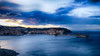 Avec vue (Fred&rique) Tags: lumixfz1000 photoshop hdr pyrénéesorientales collioure heurebleue crépuscule vue mer seascape clocher église architecture paysage nature