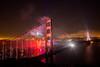 Nightfall San Francisco (Thomas Hawk) Tags: 75thbirthdaygoldengatebridge america batteryspencer california goldengatebridge marin marinheadlands sanfrancisco usa unitedstates unitedstatesofamerica bridge fireworks millvalley us fav10 fav25 fav50 fav100