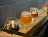 Beers at Hysteria Brewery (RPStrick) Tags: beer glass hysteria brewing snifter half full stout ale leica m262 7artisans 50mm f11
