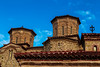 Meteora (CaptSpaulding) Tags: greece meteoramonasteries meteora old religious red monasteries byzantine monks hills mountains sky canon color contrast clouds closeup church architecture building tower arch