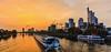 Visit Frankfurt (FH | Photography) Tags: frankfurtammain hessen deutschland main sunset skyline hochhäuser de tourismus schiffahrt bankenmetropole ufer promenade gebäude architekur modern immobilien altstadt kräne wachstum wirtschaft banken westend frankfurt stadt city landeshauptstadt skyscraper