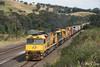 Thinning Out (Henry's Railway Gallery) Tags: 6021 ldp005 6023 6020class ldpclass ge emd diesel clyde goninan ugl aurizon freighttrain containertrain mathiesonssiding wandong 5bm7 bm7