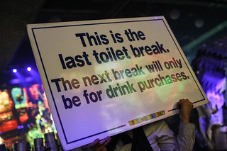 Last toilet break