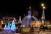 BONNEVILLE la nuit (Elyane11) Tags: lumière nuit fontaine bonneville 74 fêtes noël place ombres