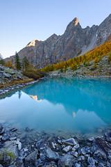Lac Douche (renan4) Tags: nikon d800 1635mm landscape mountains alps sunrise sunset bluehour europe renan4 renan gicquel travel trip blue lake france briançon monetierlesbains french