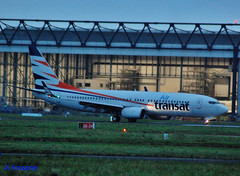 AIR TRANSAT B737 C-GTQX (Adrian.Kissane) Tags: airtransat b737 shannon cgtqx 35093