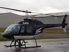 G-WIIZ Bell Jet Ranger 206 Bradawl Ltd (Aircaft @ Gloucestershire Airport By James) Tags: gloucestershire airport gwiiz bell jet ranger 206 helicopter bradawl ltd egbj james lloyds