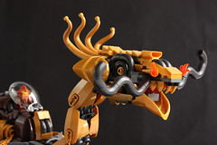 Thrugont Thunderthroat's Mechanical Dragon (Eero Okkonen) Tags: lego moc dragon dwarf dwarves dwarfpunk