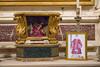 Esposizione della nuova icona di S. Cesario accanto all'urna-reliquiario, Basilica di San Frediano in Lucca (foto Lucio Ghilardi) (reginaviarum) Tags: lucio ghilardi fotografo cesario cesareo basilica san frediano lucca zita cappella sandei annunziata reliquiario urna barocco ligneo ossa relics relic caesarius diaconus terracina 1 novembre icona oro michelangelo giannotti vicario generale diocesi mons dalmatica diacono martire lucchese padri lucchesi papa alessandro ii toscana lucques saint césaire diacre reliquary reliquaire cesariu marmo