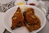 Hazelnut Frech Toast (A. Wee) Tags: inflightmeal fijiairways businessclass 斐济航空 商务舱 公务舱 frenchtoast