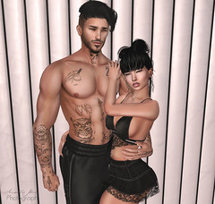 Forever (Terlye) Tags: spp pose sintiklia hair ps store couples secondlife sl stealthic ar2 style valekoer avatar tattoo