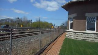 CSX freight train (April 2016) (Marion, Ohio, USA) 2