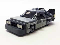 Nerdtron DeLorean front (Oky - Space Ranger) Tags: lego bricknerd nerdvember nerdly nerdtron voltron defender 80s vehicles giant robot tmnt teenage mutant ninja turtles bttf back future ghostbusters ecto1 ateam van walkman