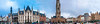 Brugge Panno (Tony Shertila) Tags: bruges brugge brussels cityscape europe city belgum building architecture townhall square people tourist 20170830143048 pano panorama vlaanderen belgium bel