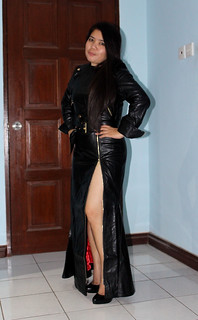 New Leather Gown