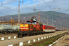 Soon History (Krali Mirko) Tags: bdz cargo train electric locomotive skoda 61010 dupnitsa bulgaria railway station transport бдж влак локомотив дупница