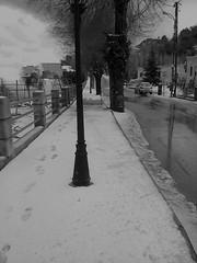 Dans la rue (Gilbert-Noël Sfeir Mont-Liban) Tags: kesserwan montliban liban winter hiver schnee neige strase route rue street road snow