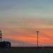 Grain Elevator Sunset - Woods, KS (Christopher J May) Tags: grainelevator panorama woods kansas ks sunset sky color