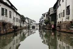 Canals at Shantang Road in Suzhou, China (mbphillips) Tags: 苏州 江苏 jiangsu shantangstreet 山塘街 china 中国 중국 中國 asia 亞洲 fareast アジア 아시아 亚洲 sigma1835mmf18dchsm mbphillips canon80d 七里山塘 山塘河 shantangcanal 江南 jiangnan geotagged photojournalism photojournalist suzhou gusudistrict 姑苏区 姑蘇區