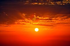 Life Giver ! (gtsimis) Tags: sunrays red orange pentaxk3 ricohimaging sunburst beautifulearth star solarsystem
