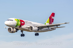 "TAP Portugal CS-TTO A319-100 (IMG_6277) (Cameron Burns) Tags: tapportugal tap tp cstto airbus a319 a319100 anterodequental cn1127 lis bcn lisbon portugal gren white red airliner action flight jetengines airline flying aviation plane airplane aircraft airfield aerospace aeroplane spotter spotting planespotter planespotting airport airports ""barcelonael prat airport"" prat"" barcelona ""el lebl spain españa europe aena aeroport aeropuerto avióndelínea avión línea accíon vuelo líneaaérea aviación"