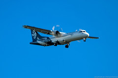 Photo (Rorohiko) Tags: zkmvl air new zealand mount cook airline atr atr72600 christchurch