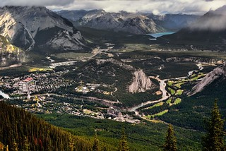 From the Top of Sulphur Mountain (Banff National Park)