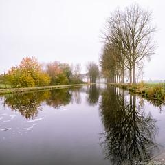 L' Espierres (musette thierry) Tags: musette thierry paysage landscape lespierres canal belgique belgium novembre reflex