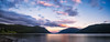 Sunset Lake (languitar) Tags: norway colorefex4 sunset photography panorama water mountains sky tinnsjø lake austbygde valley clouds colorefex kingdomofnorway nikcolorefex norge tinn telemark no