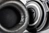 Audio Technica ATH-50MX (Miasura) Tags: audiotechnica macro headohones leather ear sound aluminum ath50mx white black music hearing