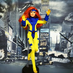 Jean Grey (alexmadalton) Tags: phoenix toy doll figure action comics marvel gold red uncanny xmen