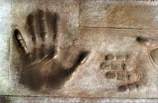 President Franklin D. Roosevelt Memorial - interactive section for the blind. Washington, D.C.